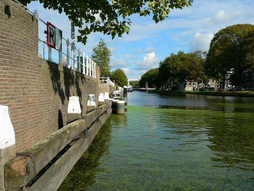 Blick aus unserer Kuip, Delft