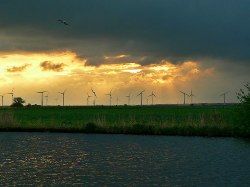 Sonnenaufgang am Eemmeer