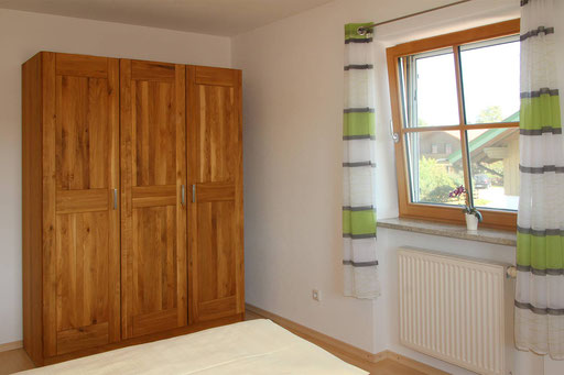 Massivholz-Möbel in allen Zimmern