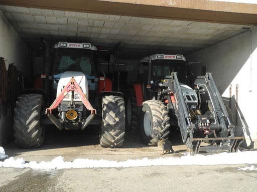 Unsere Traktoren für die Land- und Forstwirtschaft