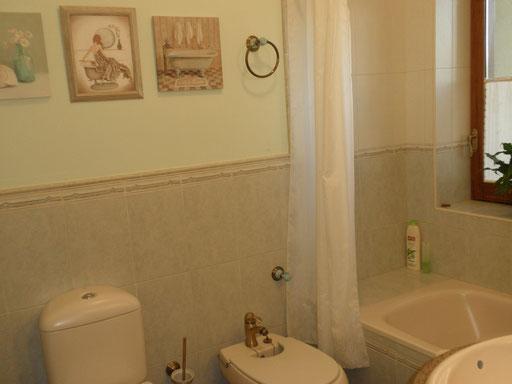 Baño Habitación nº 1, o compartido según demanda.