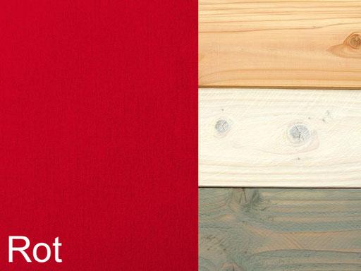 Gartenmöbel Polster Dekor Rot