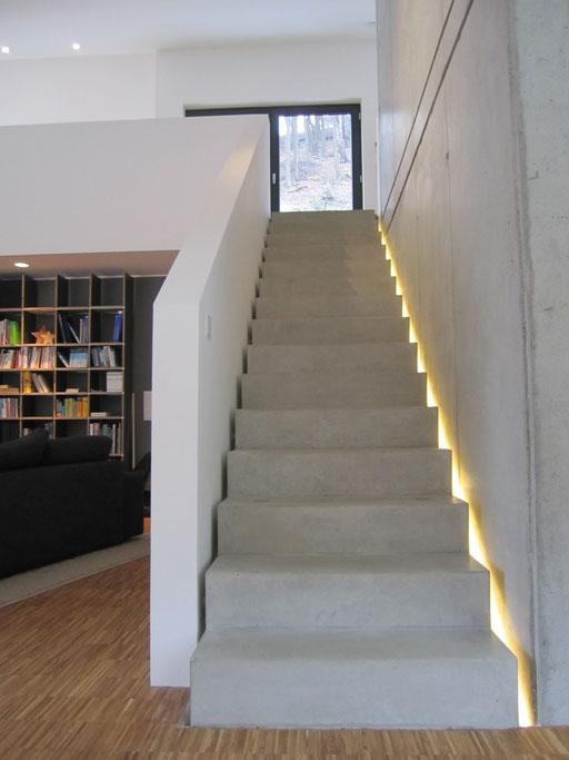 LED Lichtlinie Treppe