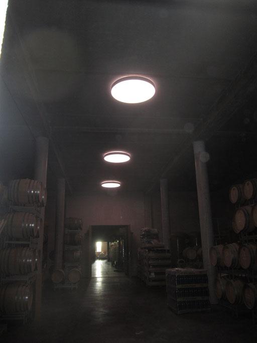 RGBW-Sonderleuchten Weingut