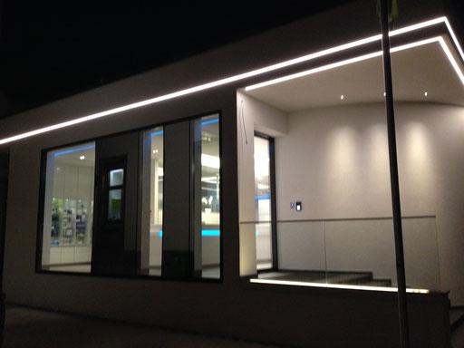 LED Kontur Fassade