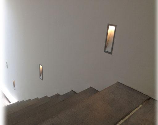 LED Wandeinbau