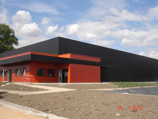 Extension des bâtiments - ETABLISSEMENT PUIGRENIER - MONTLUCON (03)