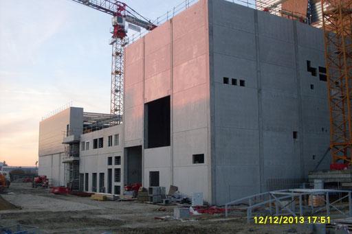 Chaufferie centrale cogénération Biomasse - ORLEANS