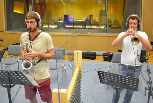 HSLU Septet - Florian Egli und Dave Blaser