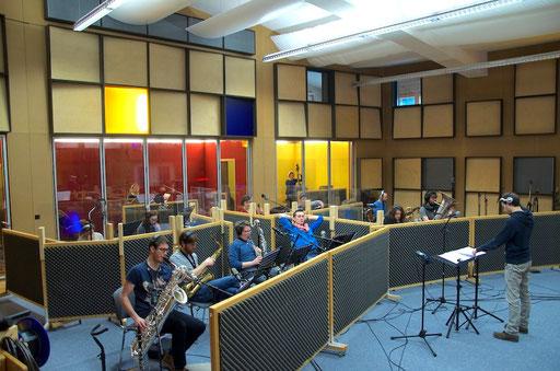 Jazzband der Uni Linz und Hochschule Luzern unter der Leitung von Johannes Berauer