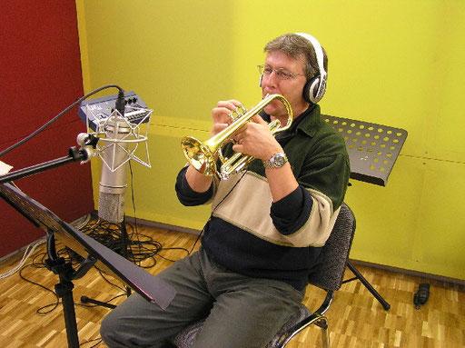 Produktion von Acanthus Music für Brass Quartett unter der Leitung von Corsin Tuor - Rino Chiappori