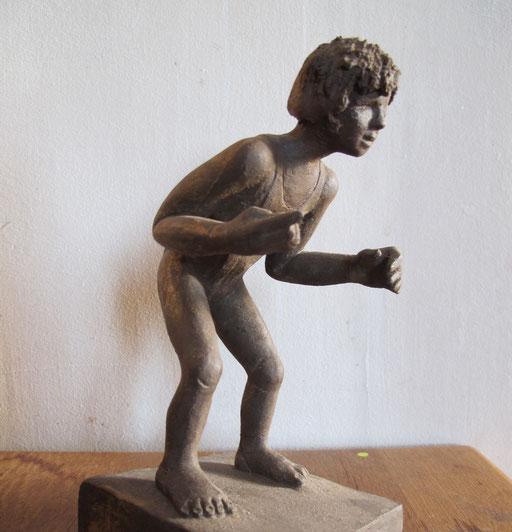Souvenir, en bronze sur commande, 20 cm, Belgique