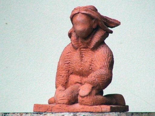 Mala, en bronze sur commande, 10 cm, Belgique