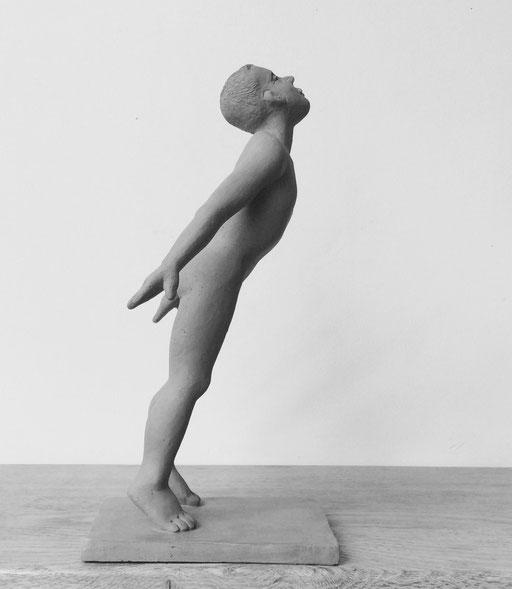 Hommage à Mapplethorpe, en bronze sur commande, 20 cm, Québec