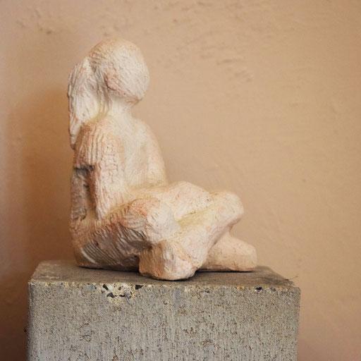 Figure à la Queue de Cheval, en bronze sur commande, 10 cm, Belgique