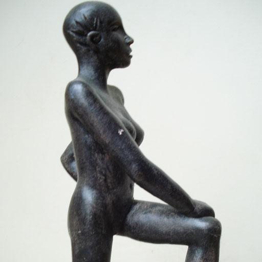 Guerrière, bronze, 25 cm, Belgique
