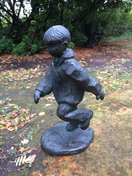 Contre Vents et Marées, bronze,18 cm, Belgique