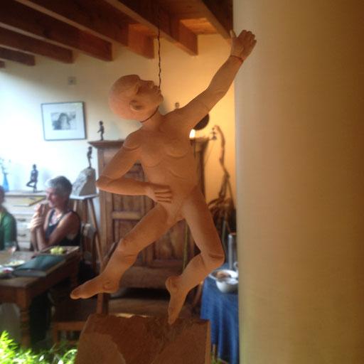 Le Danseur, en bronze sur commande, 25 cm, Belgique