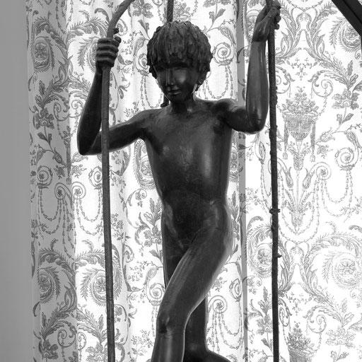 Lianes, bronze, grandeur nature, Québec