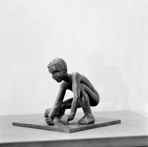 Donald à la mer, bronze, 11 cm, Belgique