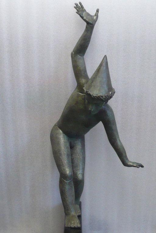 Funambule, bronze, 70 cm, disponible, Québec