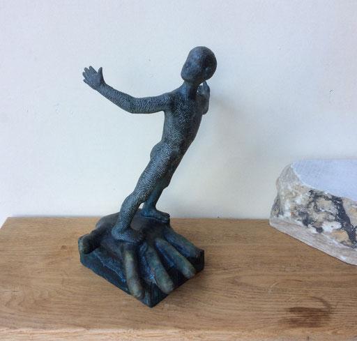 L'Envol, bronze, 27 cm, Belgique