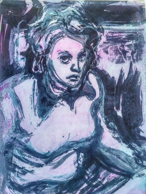 Florence 05, encre sur paapier, A4, 1980