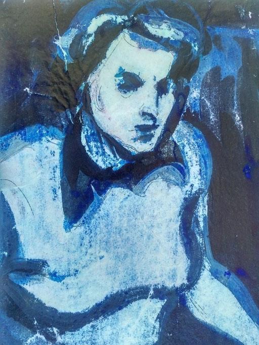 Florence 13, encre sur paapier, A4, 1980
