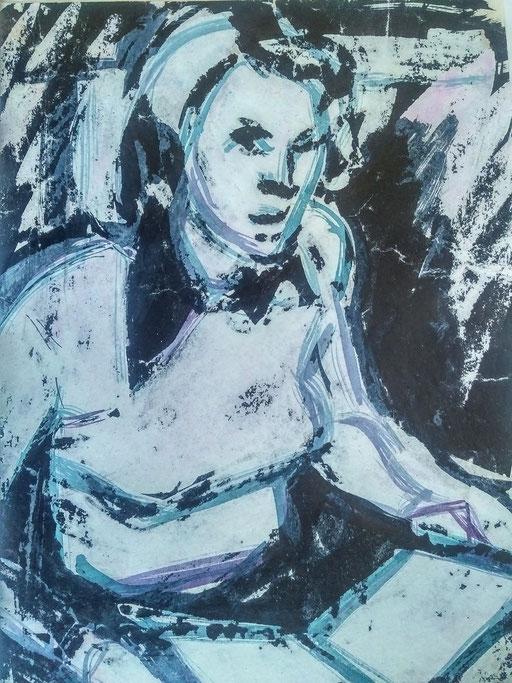 Florence 10, encre sur paapier, A4, 1980
