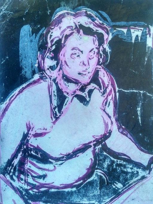 Florence 11, encre sur paapier, A4, 1980