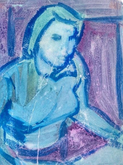 Florence 14, encre sur paapier, A4, 1980