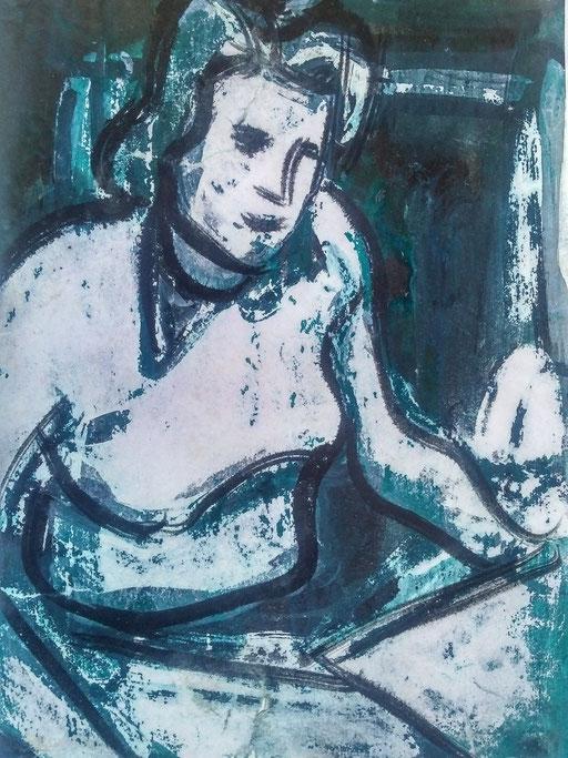 Florence 01, encre sur paapier, A4, 1980