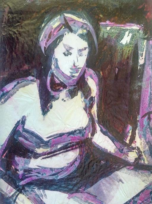 Florence 16, encre sur paapier, A4, 1980