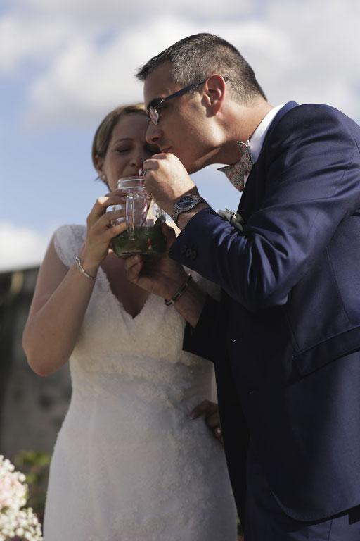 Rituel du cocktail / Cérémonie laïque de Mariage by Charlotte Vilain