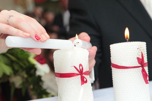 Rituel des bougies / Cérémonie laïque de Mariage by Charlotte Vilain