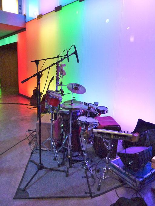 kleines set zum live-recording....
