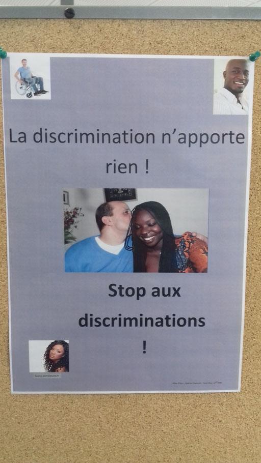 Lutte contre les discriminations par Allan, Gabriel et Yoan