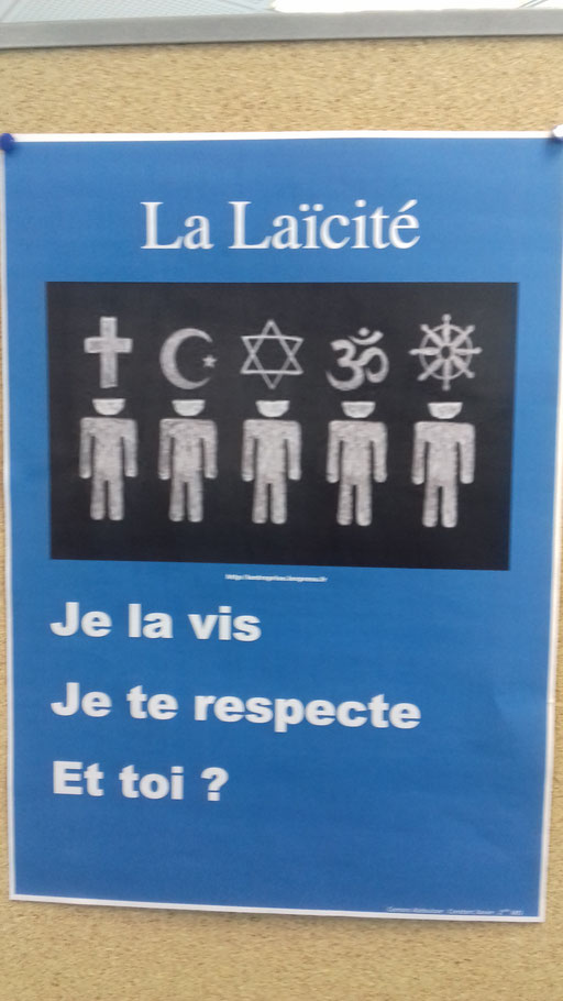 Pour le respect des consciences par Xavier, Abdoulaye et Tatiana