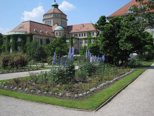 Botanisches Institut mit Schmuckhof