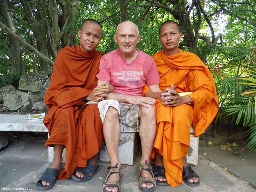 Der Autor -  in Angkor Wat, Kambotscha