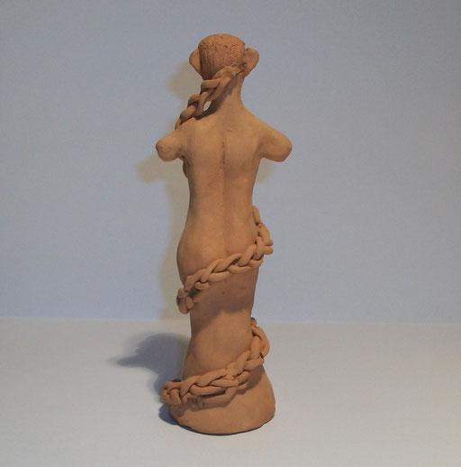 Figur von hinten