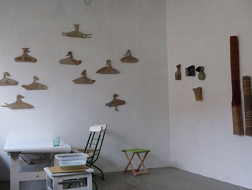 Hinterhaus 1. Stock Atelier Anette Blocher Foto Claudia Spanhel