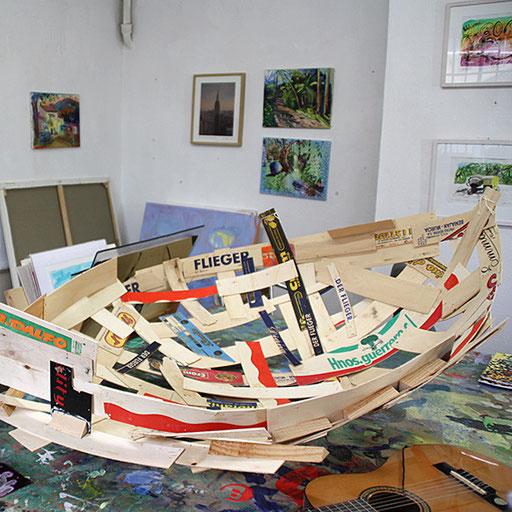 Hinteraus Hochparterre Atelier Harri Schemm Foto Maria Hößle-Stix