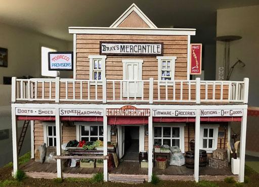 """Le magasin de Loren, """"Bray's Mercantile"""". face 2"""