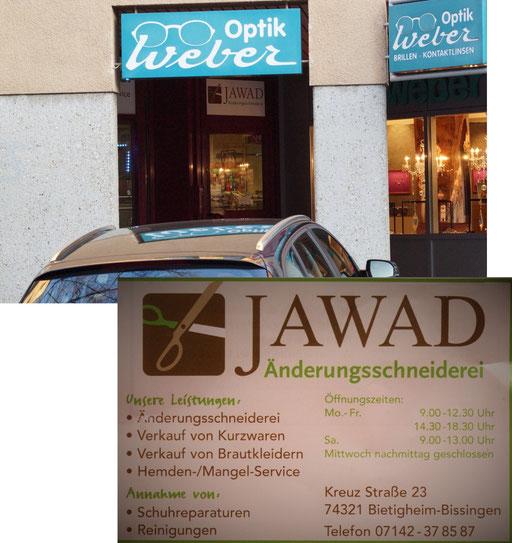 Hadi von JAWAD Änderungsschneiderei Bissingen spendete Wolle fürs Stricken - Charity-Aktion, 09.12.15