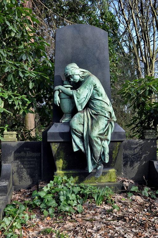 Ostfriedhof Dortmund, Grabmal Klöpper