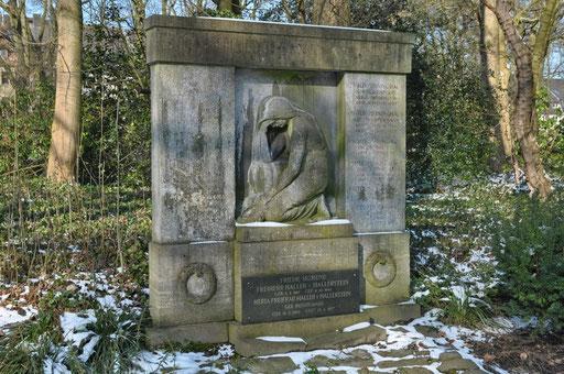 Ostfriedhof Dortmund, Grabmal Meininghaus / Haller von Hallerstein