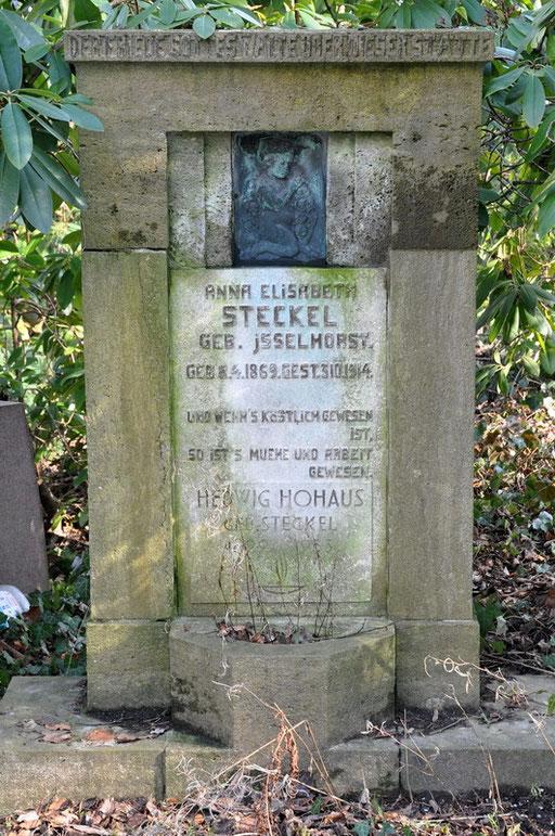 Ostfriedhof Dortmund, Grabmal Steckel