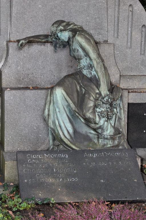 Ostfriedhof Dortmund, Grabmal Familie Ludwig Mönnig