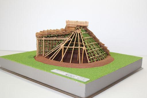 竪穴式住居 展示用 S=1/30